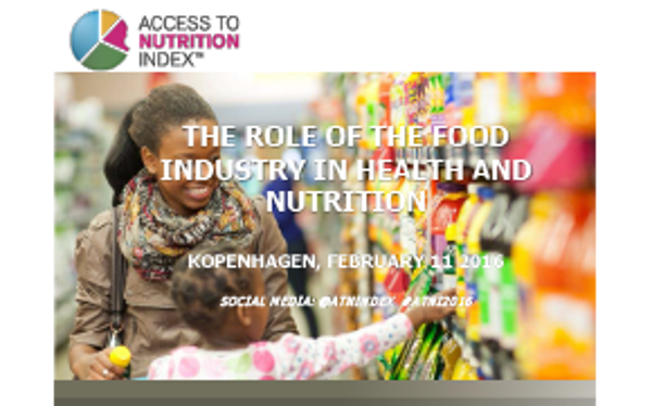 "Marije Boomsma, Program Manager, Access to Nutrition Foundation. Oplæg: ""The role of the food industry in health and nutrition"""
