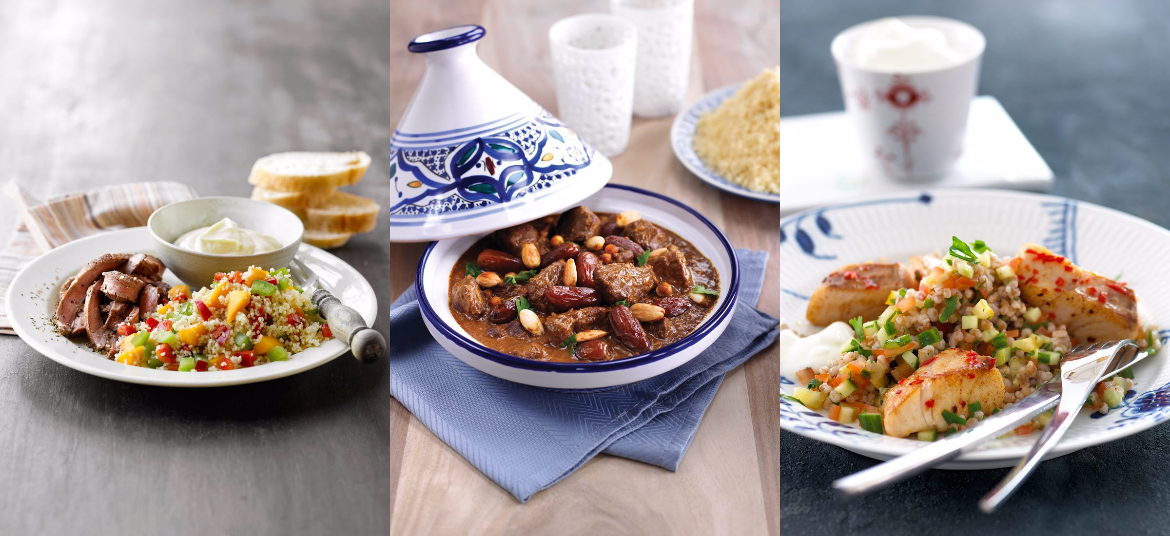 Afrikansk inspireret mad - Afrikas varme - Opskrifter fra Arla