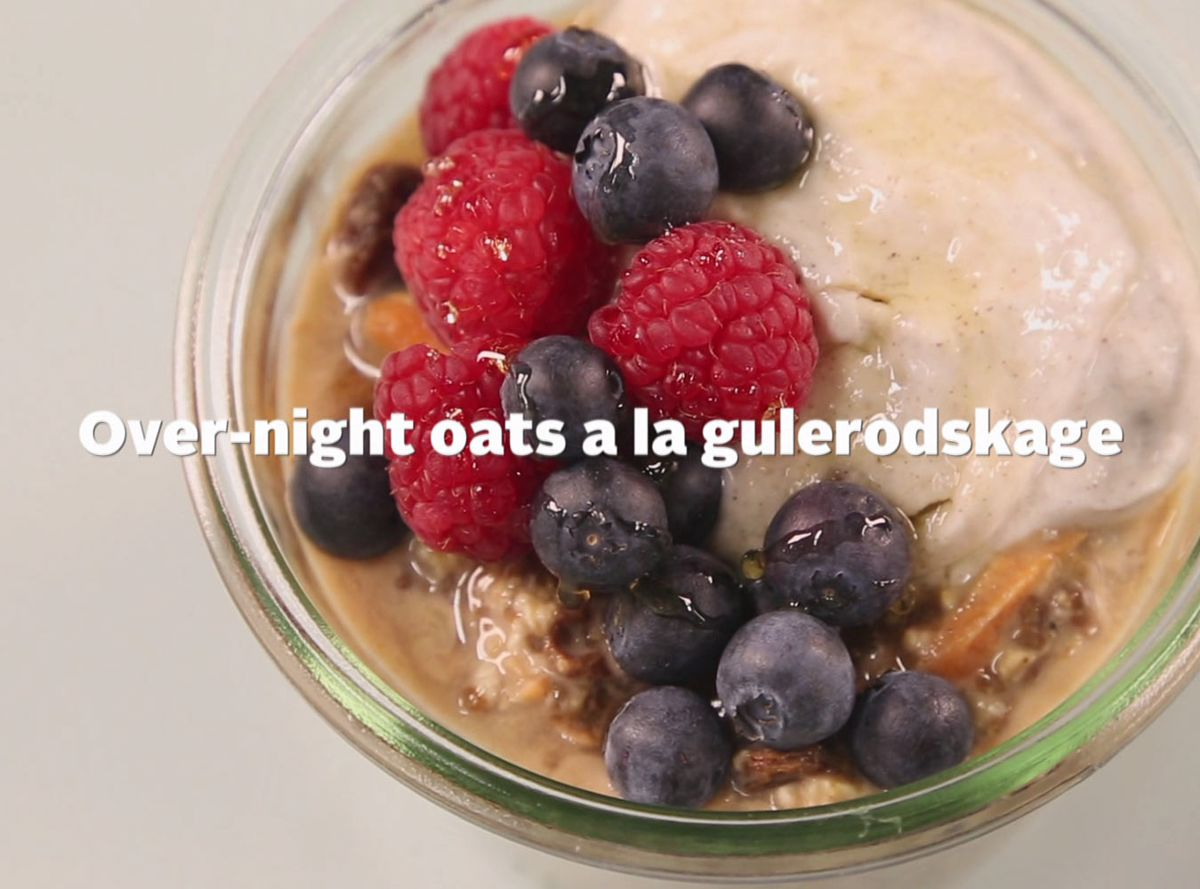 Over-night oats á la gulerodskage
