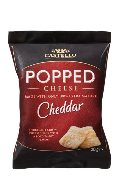 Popped Extra Mature Cheddar