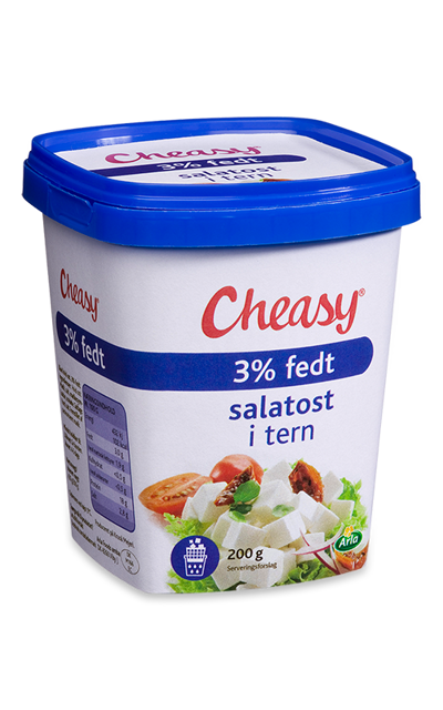 Cheasy® Salatost i tern 3%