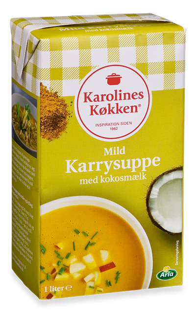 Pikant karrysuppe