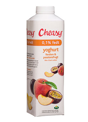 Cheasy® fersken & passionsfrugt 0,1%